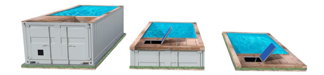 installation piscine container abbeville